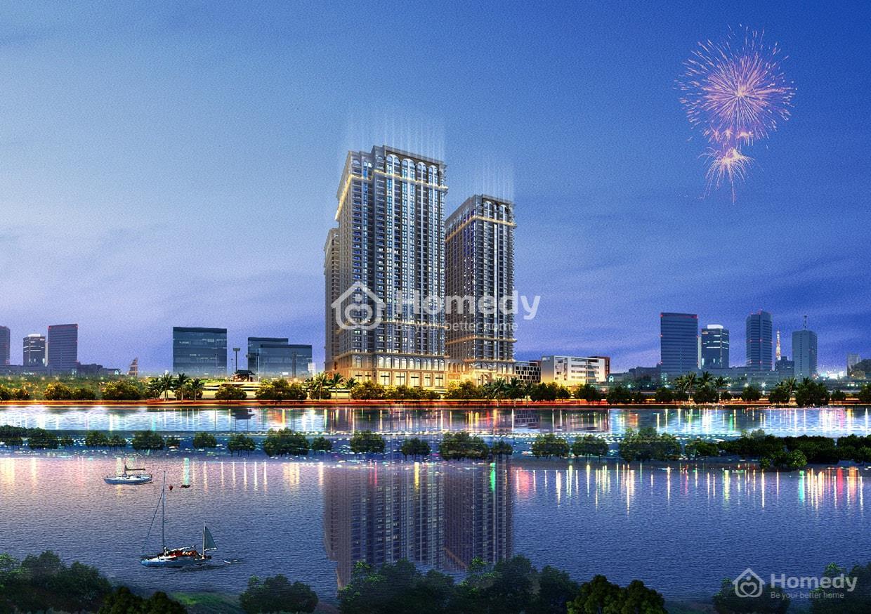 Bán Sunshine Riverside, 99,99m2, 3 phòng ngủ 2wc, cạnh vườn treo, giá 3,27  tỷ, ngân hàng hỗ trợ 65%