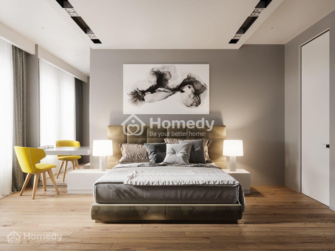 Thiết kế đầu giường gợi lại xu hướng thiết kế của những năm đầu thế kỉ trước.