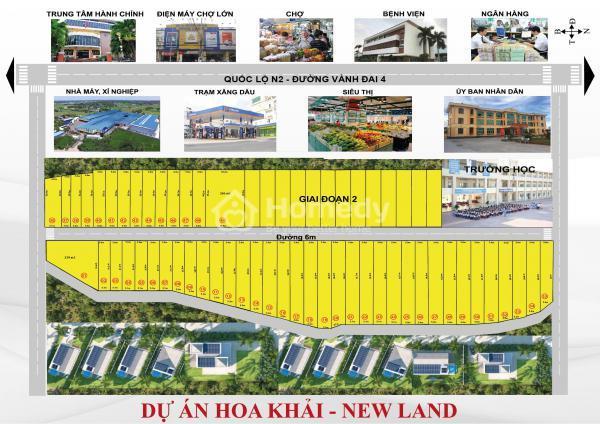 hoa khai new land