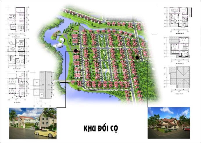 Hạ tầng, quy hoạch của Khu đô thị Dịch vụ Du lịch Sinh thái Giang Điền | ảnh 5