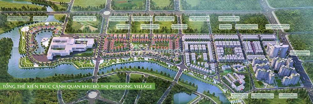 biet thu pho dong village