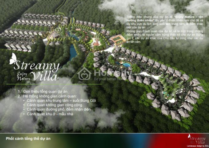 roayl streamy villas