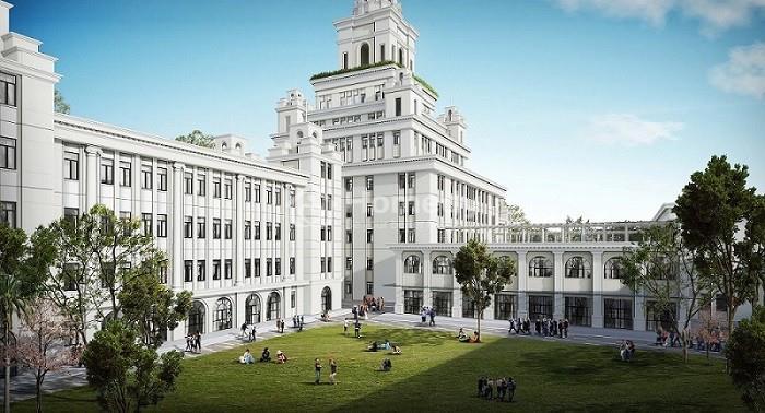 Lộ diện những hình ảnh đầu tiên của Đại học VinUni - như toà lâu đài 10 tầng với tháp cao 108m