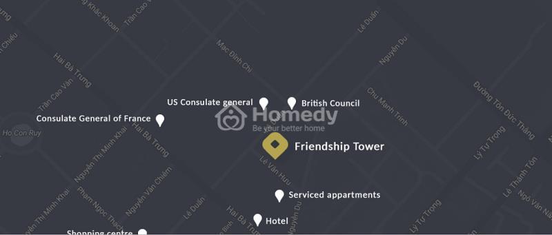 Vị trí dự án Friendship tower
