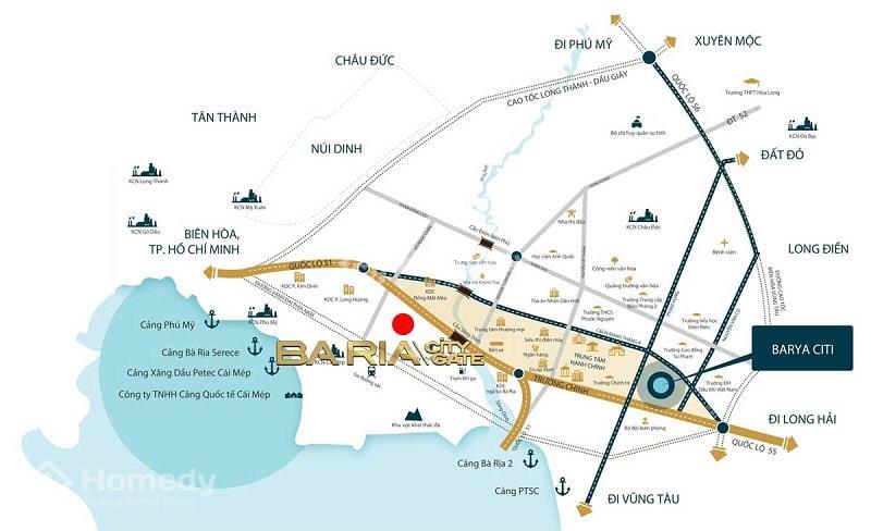 baria city