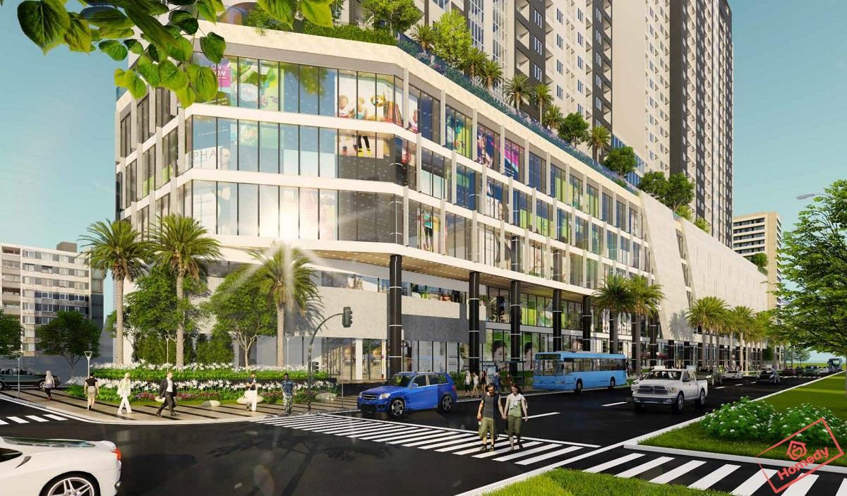 Toàn cảnh khu căn hộ chung cư aqua park