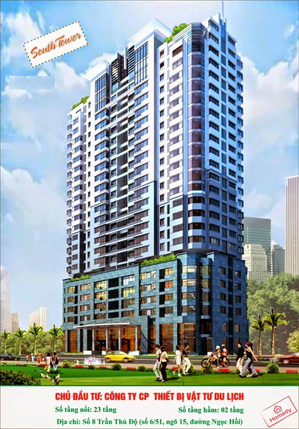 chung cu south tower