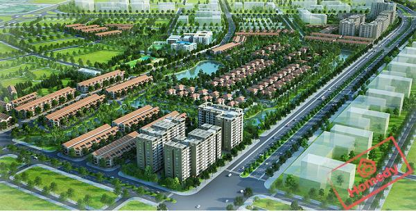 Phối cảnh khu đô thị Đông Hải