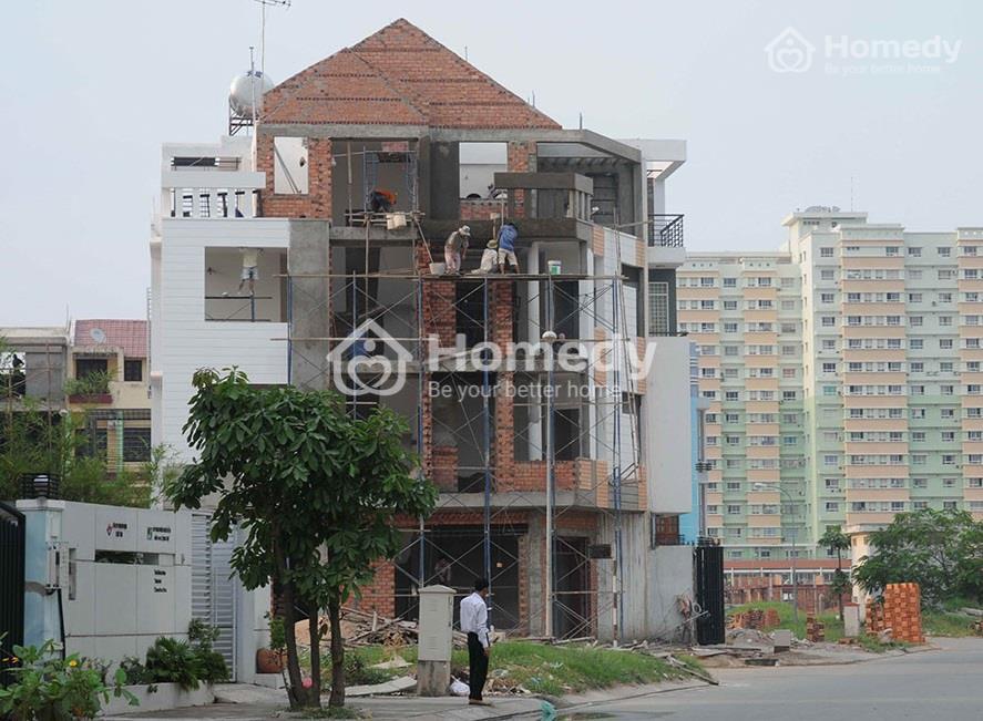 xây nhà sai phép
