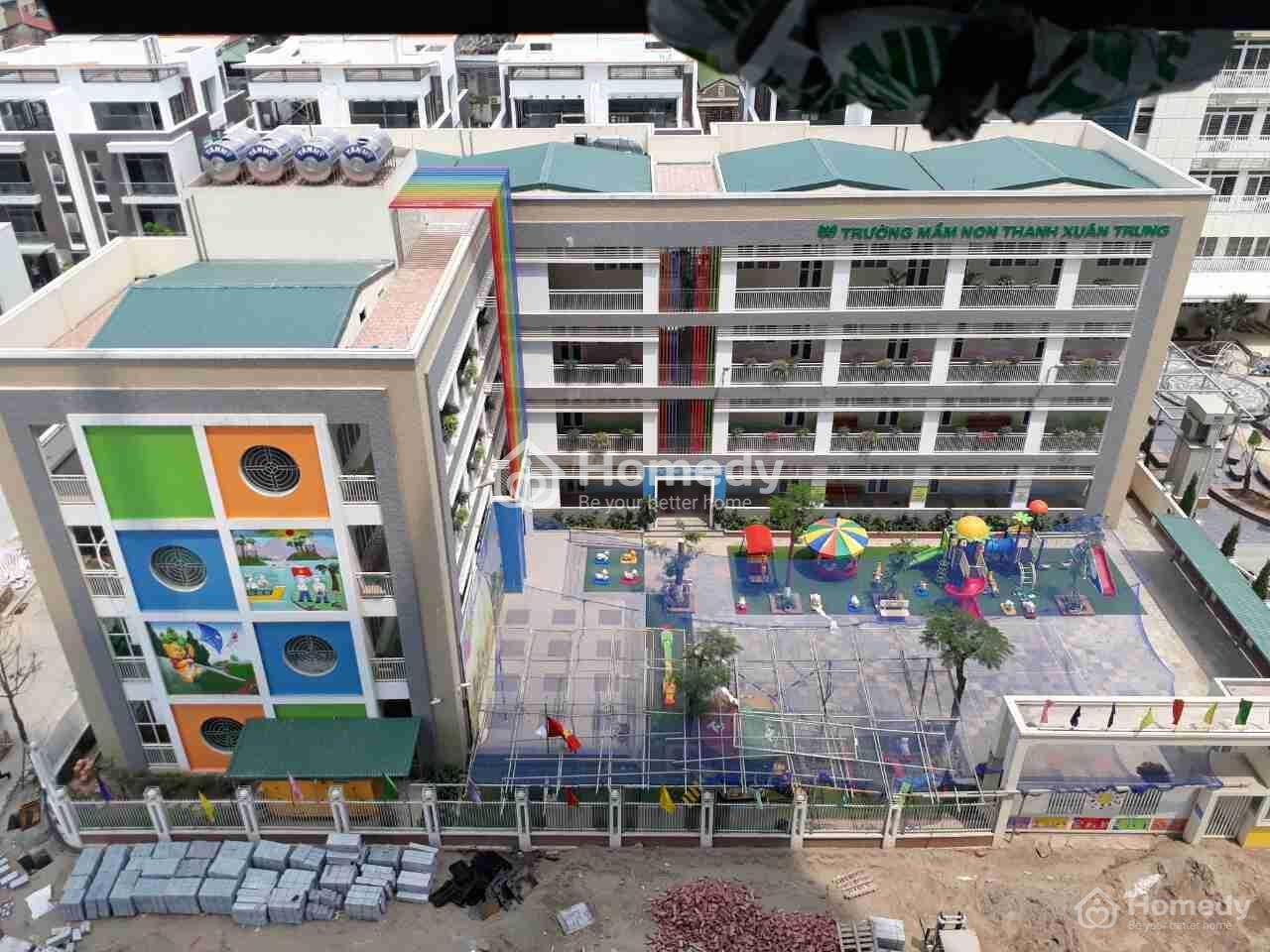 trường học trong dự án