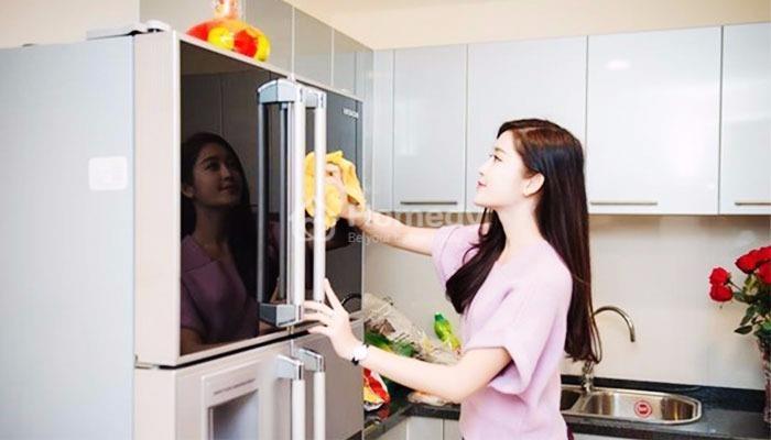 Dọn dẹp khu vực bếp ngay khi nấu ăn xong