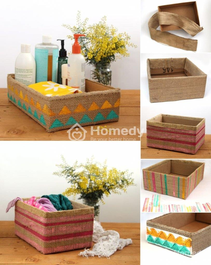 sáng tạo cùng thùng carton