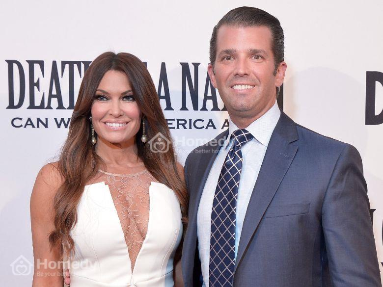 biêt thự Donald Trump Jr. và Kimberly Guilfoyle