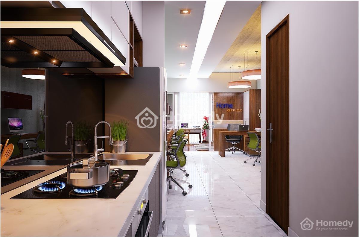 Một số hình ảnh về căn hộOfficetel thực tế tại Việt Nam.