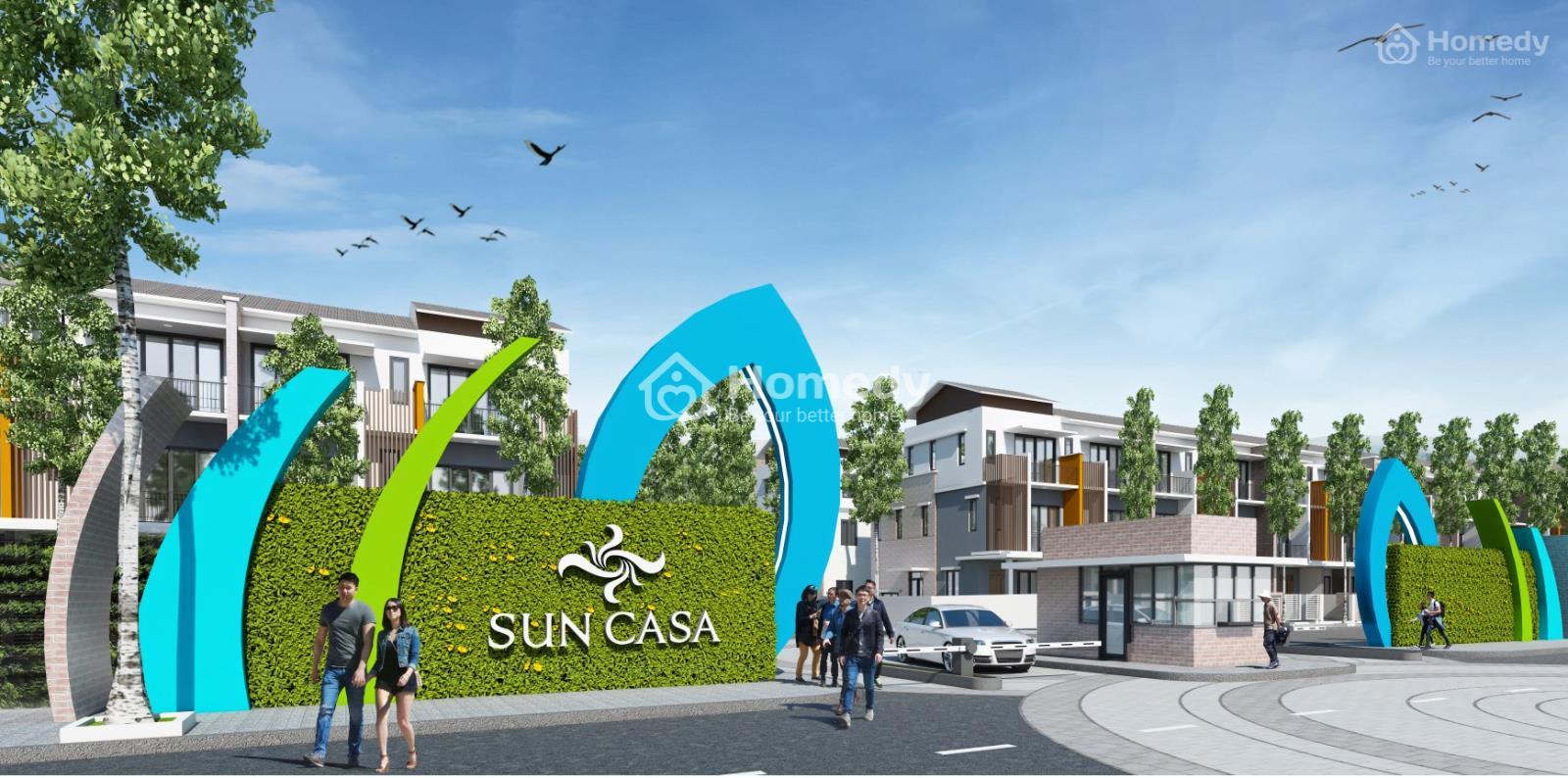 Tổng quan dự án Sun Casa Central