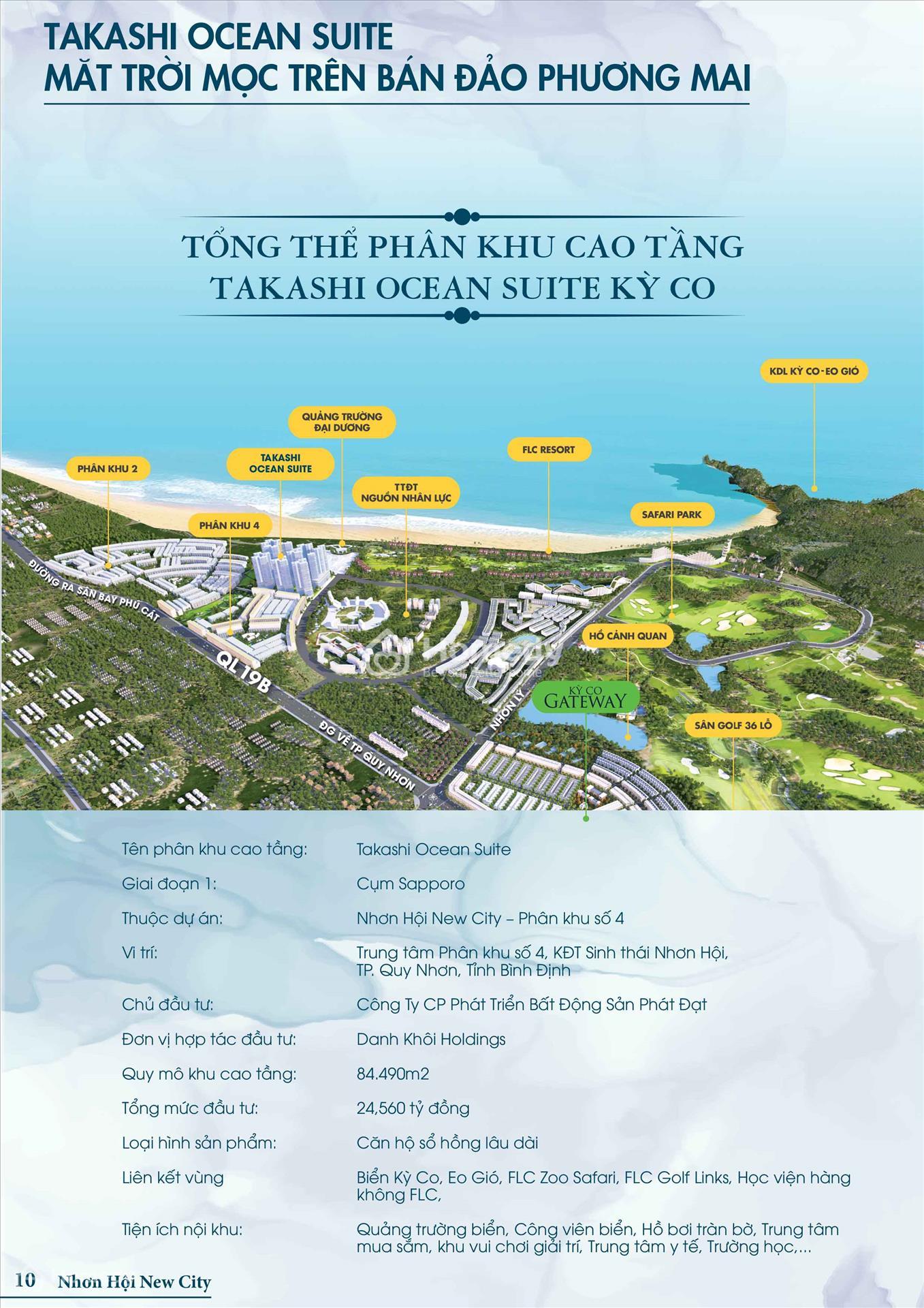 Tổng quan dự án takashi-ocean-suite-ky-co