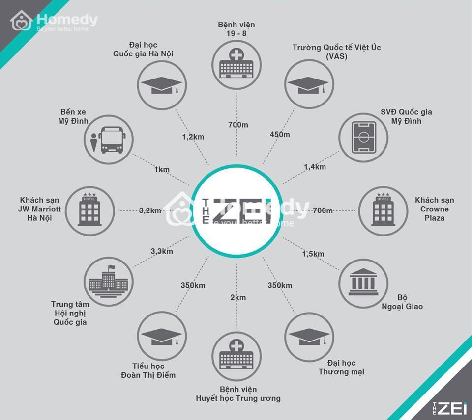 dự án chung cư the zei