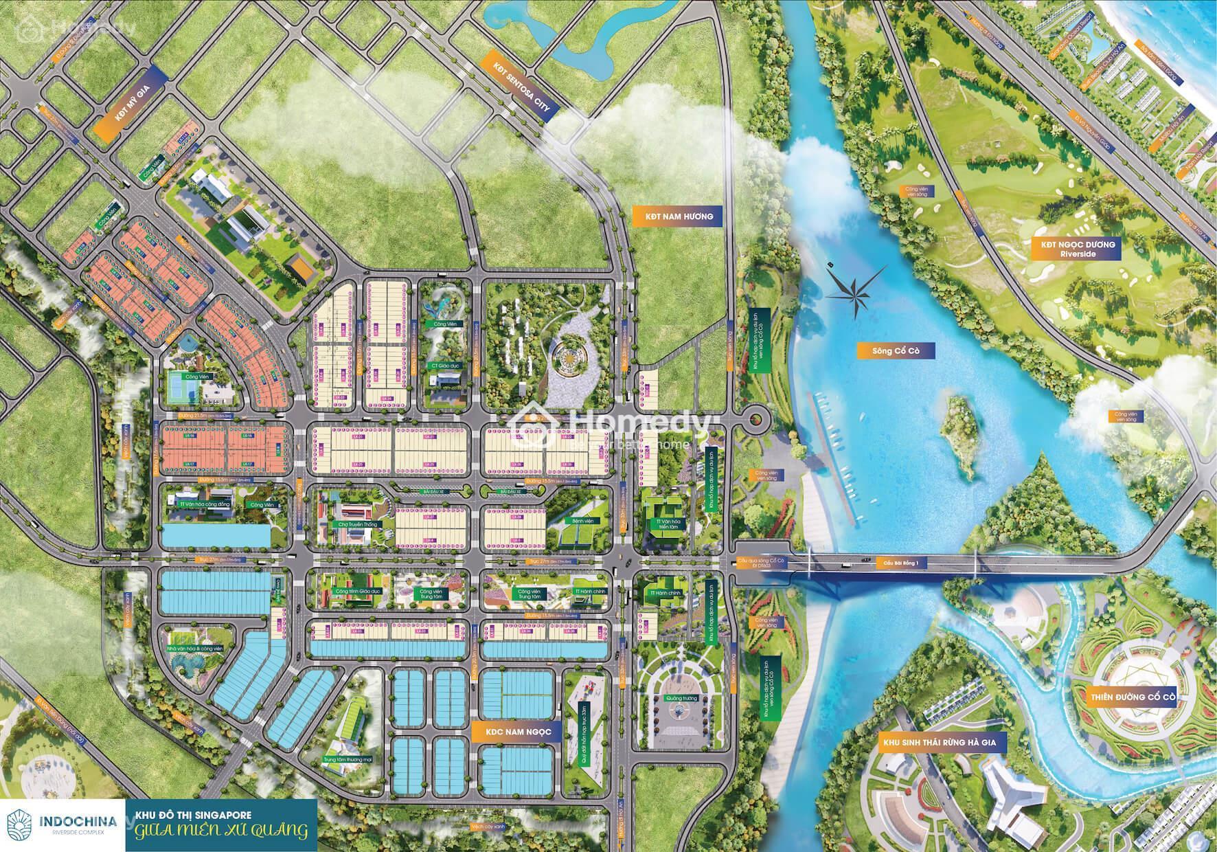 Đất nền Indochina Riverside Complex