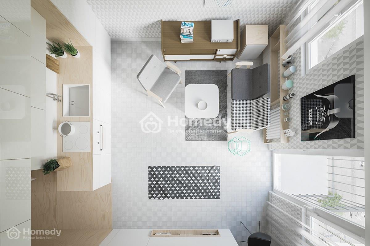 thuê chung cư 1 phòng ngủ tphcm giá rẻ