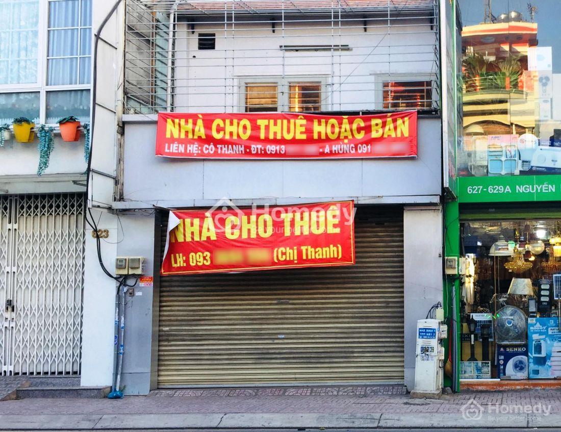 Cho thuê nhà mặt tiền Tp Hồ Chí Minh