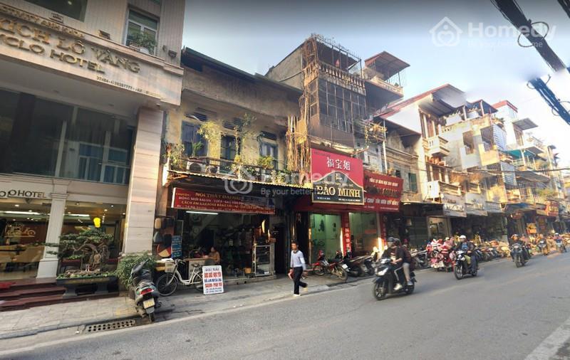 Giá bán nhà mặt phố Hà Nội 2021
