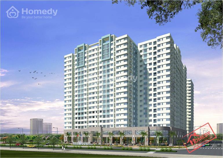 Phối cảnh tổng thể dự án căn hộ Song Ngọc Quận 8
