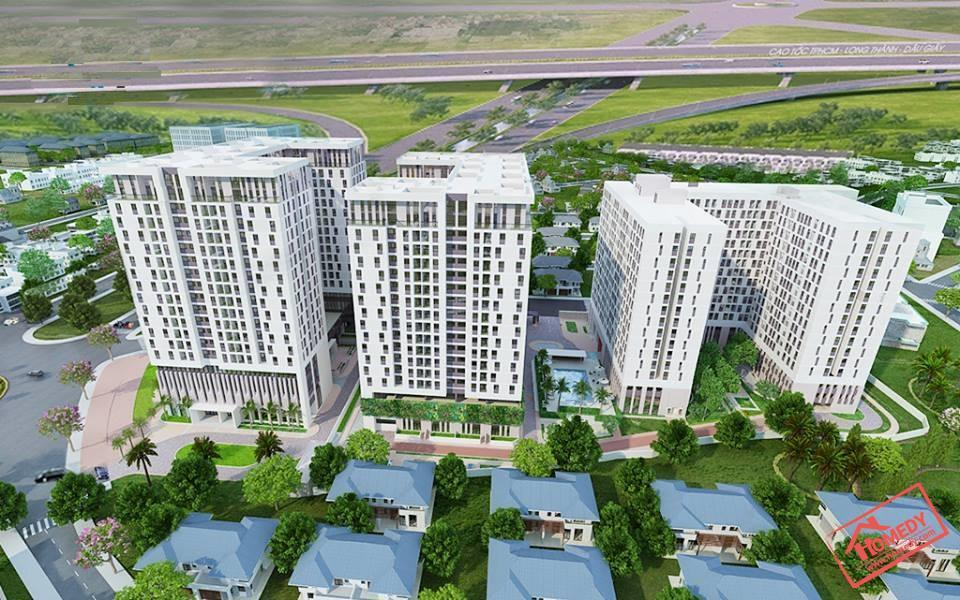 Phối cảnh dự án khu căn hộ Sky 9