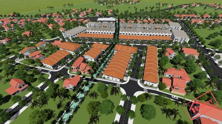 phoi canh tong the khu dan cu rose city