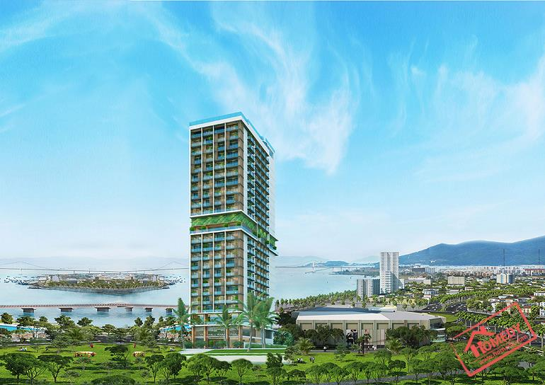 phoi canh condotel tms luxury da nang